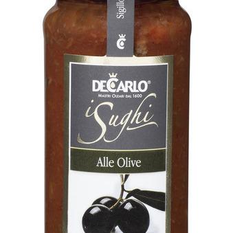 Sauce aux olives De Carlo