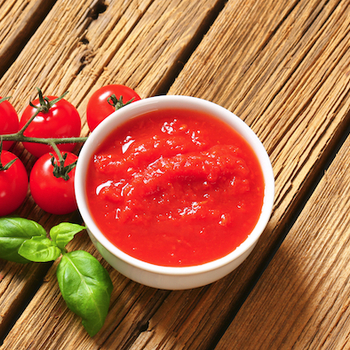Tomates - coulis et morceaux de tomates