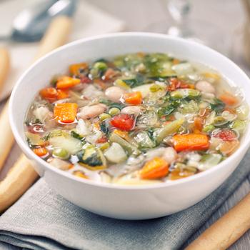 Potages de légumes